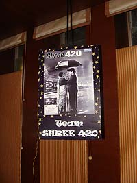Retro Birthday theme Shree 420 poster